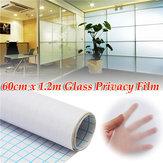 60センチメートル1.2Mの曇った窓ティントガラスホームオフィス用のプライバシーPVCフィルム