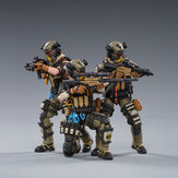 JOYTOY Action Figure Multi-joint Rotatable HELL SKULL PARATROOPER SQUAD Figure New Toy for Collectible Toys