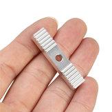 2GT Timing Cinturón Estator de pieza fija de aluminio para impresora síncrona 3D