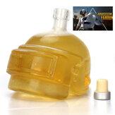 PUBG Playerunknown's Battlegrounds 3 Levels Helmet Wine Flagon Wine Pot Wine Jug High Borosilicate Glass Vodka Bottle Gift For Friends
