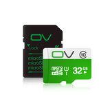 Original OV 80MB/S Class10 Micro SD Memory Card With Micro SD to SD Card Reader Set