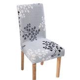 Эластичный чехол для обеденного стула, эластичный чехол для сиденья, офисный компьютер, протектор для стула, домашний офис, мебель, декор