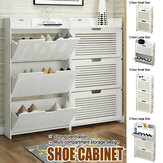 Shoe Storage Organzier Tower Modular Cabinet Shelving for Space Saving Shoe Rack Shelves for Shoes Boots Slippers