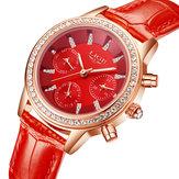 LIGE9812EleganteDesignDataDisplay Ladies Relógio De Pulso