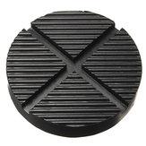 Черная резина Авто Грузовик с крестообразным шлицем с каркасом для рельсов