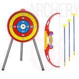 Set di giochi sparatutto con tiro con l'arco classico Sviluppa abilità Novità Giocattoli per bambini piccoli