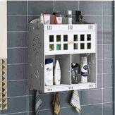Banyo Kozmetik Depolama Duvara Montaj Dolabı Masaüstü Üzerinde Asılı Düzenleyici Kutu