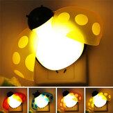 Voz leve de controle remoto lâmpada de parede colorido creativo beatles inteligentes LED casa decoração luz da noite