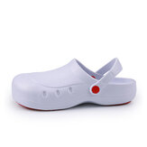 AtreGo Casual Sports Slippers Non-Slip Breathable Flats Sunmmer Beach Hollow Out Sandals Soft bottom Flat Slippers