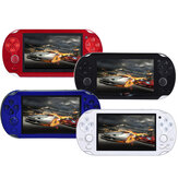 4.3 pouces Portable Handheld Game Console Player 300 Game Built in Video Camera