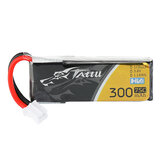 TATTU 3.8V 300mAh 75C 1S PH2.0 Plug Lipo البطارية for Happymodel Mobula6 Eachine TRASHCAN Snapper6 7 Mobula7