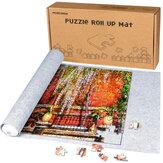 150x100cm Puzzle feltro Mat para 3000 Pcs Puzzle Puzzle Puzzle Storage Protector Mat