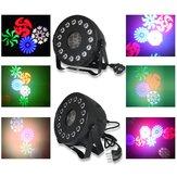30W RGB Stage Light remoto Sound Control 15 LED Par lampada per Club DJ Party Disco Wedding Natale AC90-240V