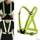 BIKIGHT Adjustable Reflective Tape Running Reflective Belt Electric Scooter Motorcycle E-bike