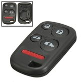 4 Button+Panic Remote Entry Key Keyless Case Shell for Honda Odyssey