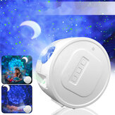 3 في 1 USB LED Galaxy Starry Night ضوء Sky جهاز عرض Ocean Wave Star Lamp