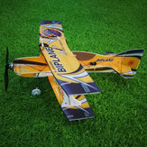 Mini-biplano Hornet 400mm Envergadura 3D Aerobatic Asa Fixa RC Aeronaves Epp D Board Indoor Outdoor F3P KIT