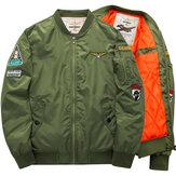 Pánská zimní módní bomberová bunda Tlustá teplá létající bunda