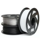 1KG 1.75mm PETGフィラメントブラックホワイトまたはヌードカラー3Dフィラメント用新フィラメント