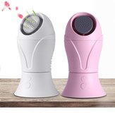 Portable Mini Handheld Fan USB Aromatherapy Leafless Fan