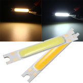 Mini 3W COB LED lampe Strip Light Bar varm hvid / hvid 300LM 10-11V