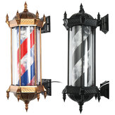 LED Classic Barber Sign Rotating Illuminating Pole for Hairdresser Salon Shop