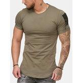 T-shirts décontractés confortables pour hommes