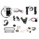 36V 350W Bermotor Electric Bike Scooter E-Bike Motor Controller Konversi Kit