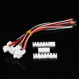 10pcs XH Pitch 2,54mm Single Head 3Pin Fio Para Board Conector 15cm 24AWG Com Tomada
