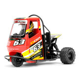 Modelo RTR do triciclo elétrico do carro do flamingo 1/8 de 2.4G 2WD Rc do X-Rider