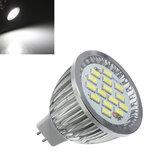 10X MR16 6.4W 480-530LM blanc SMD 5630 LED ampoule de projecteur 10V-18V AC