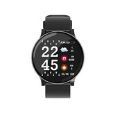 Bakeey W8 Ultra-thin Racket Bright Screen Large View Heart Rate Blood Pressure Oxygen Weather IP67 Smart Watch