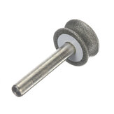 6mm 2-12mm Shank 150# Diamond Grinding Wheel for Glass Plane Arc Chamfering