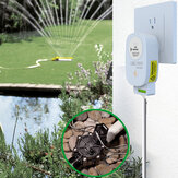 Bakeey Tuya WiFi Remote APP Control Intelligent Irrigation Controller Automatic Irrigation Timer Water Value Controller 1-way Electronic Valve For Smart Home
