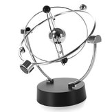 Silver Orbital Desk Decoration Himmlisches Pendel