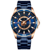 CURREN 8359 Calendar Full Steel Business Style Men Watch