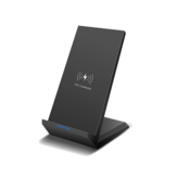 20W Vertical Wireless Fast Charger Induction Smartphone Charging Desktop Stand