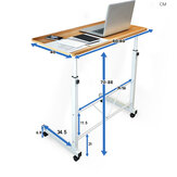 Laptop Computer Desk Bed Desktop Home Movable Lazy Person Lifting Bedside Table For Home Office