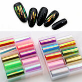 Colorful Laser Aurora Paper Candy Paper Jewelry Starry Sky Transfer Nail Stickers Nail Art Jewelry