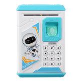 子供のための電子貯金箱パスワードお金の硬貨のホールダーの自動金庫の箱