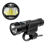 Lumintop B01 850lm 210m USB Rechargeable Bike Light Headlight 21700 18650 lommelykt