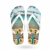 Hotmarzz Men Flip Flops Summer Slippers Non-slip Wear Resistant Beach Sandals Casual Shoes from xiaomi youpin