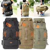80l de acampamento caminhadas mochila de lona viagens montanhismo saco de mochila caminhadas