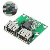 Saída USB dupla de 10 unidades 6-24 V a 5,2 V 3A DC-DC Conversor de módulo carregador de potência escalonado