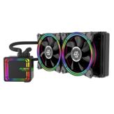 ALSEYE H240 кулер для процессора RGB вентилятор водяного охлаждения 120 мм PWM вентилятор водяного охлаждения для LGA 775 / 115x / 1366/2011 / AM2 / AM3 / AM4
