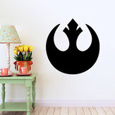 W-1 Star Wars Wall Stickers rimovibili - NERO