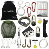 Outdoor Hiking Camping Emergency Survival Tool Set Equipamento de primeiros socorros Gear Kit