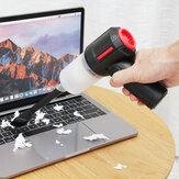 3-IN-1-FUNKTIONAL Handheld USB-betriebener Auto-Büro-Staubsauger Tastatur Teppich Lücke Staubsammler