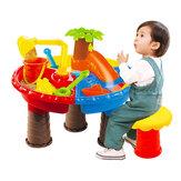 Детский набор с песком для воды На открытом воздухе Пляжный Play Toys Песочный детский ковш с лопатой и стулом