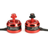 Racerstar Racing Edition 2205 BR2205 2300KV 2-4 S Motor Brushless Merah untuk 220 250 RC Drone FPV Racing